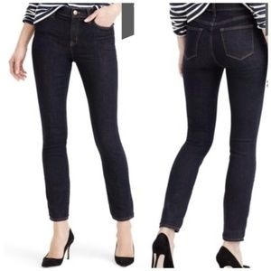J. Crew Tall Lookout High Rise Resin Wash Jeans